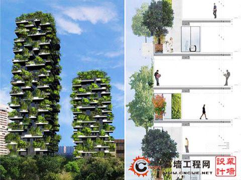 中国垂直森林分享展示