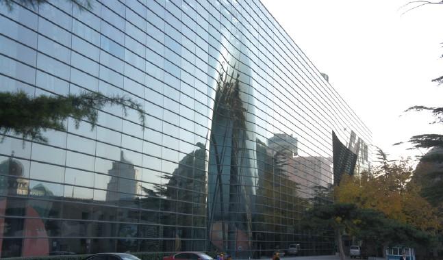 《双曲面玻璃幕墙异形v异形节点建筑北京天文馆新馆方案玻璃幕墙包头市解析设计院怎样图片