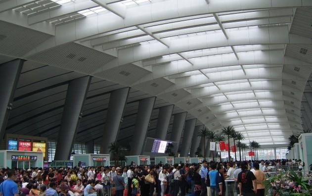 亚洲第一大火车站-新北京南站