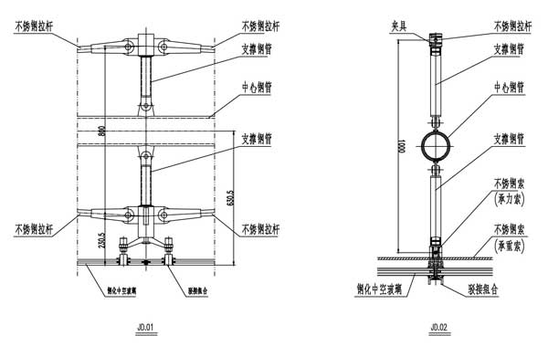 三.自平衡索杆结构的受力计算